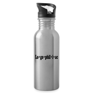logophiliac - Water Bottle