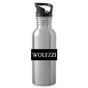 wolfzzishirtlogo - Water Bottle