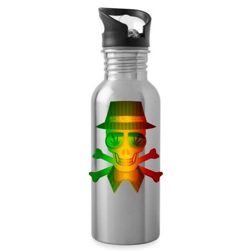 Rasta Man Rebel - Water Bottle