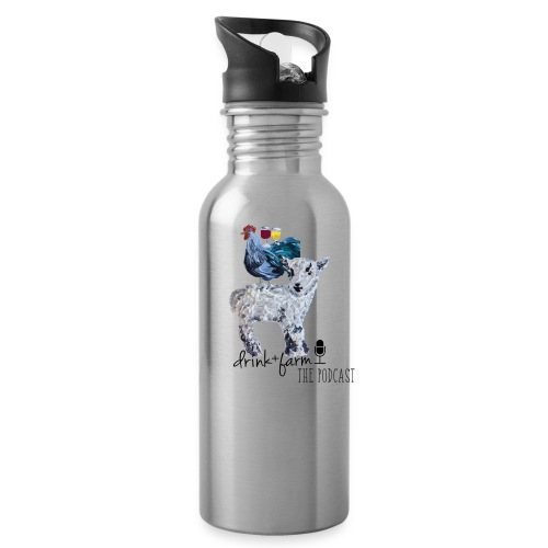 Drink & Farm Logo - Water Bottle