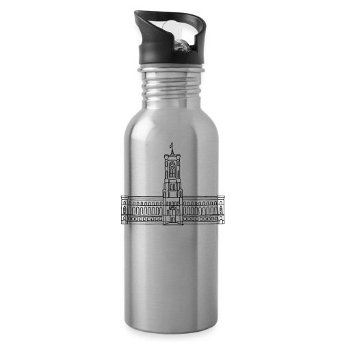 Red City Hall Berlin - Water Bottle