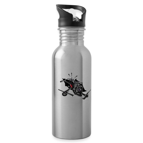 Drone Crash - Water Bottle