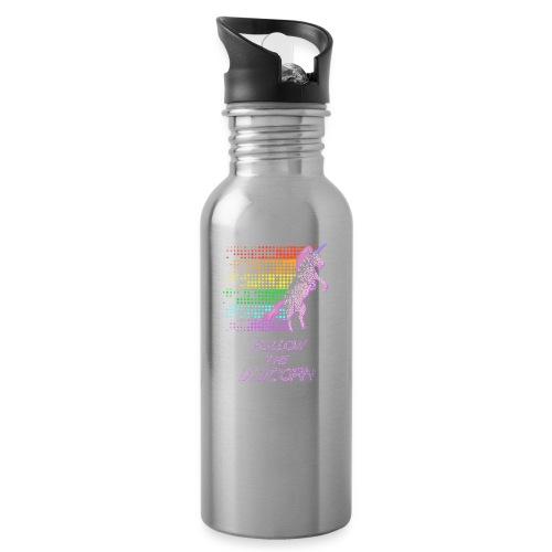 Follow The Unicorn - Water Bottle