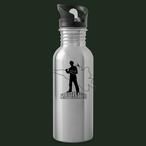 Kaffeinated Hero - Water Bottle