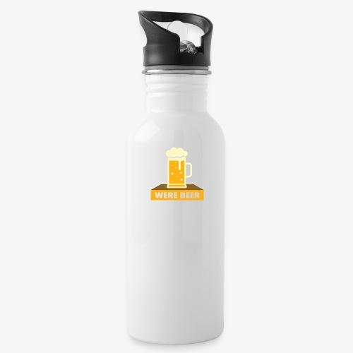 wish you were beer - Water Bottle