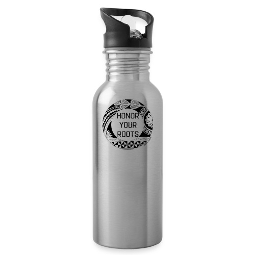 Honor Your Roots (Black) - Water Bottle