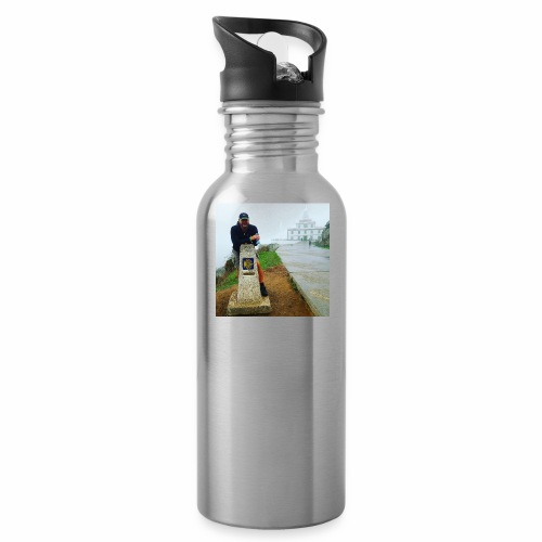 Camino 0.00 KM Backpacker Mike - Water Bottle