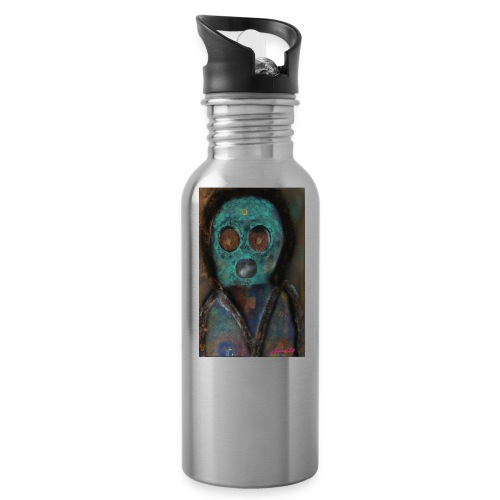 The galactic space monkey - Water Bottle