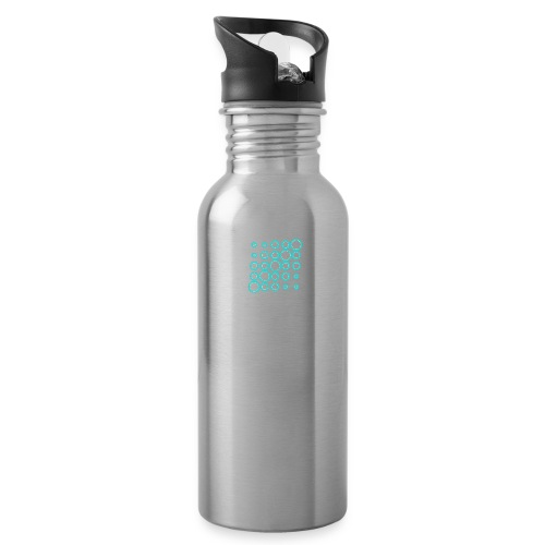 Ventana Tribe White Logo - Water Bottle