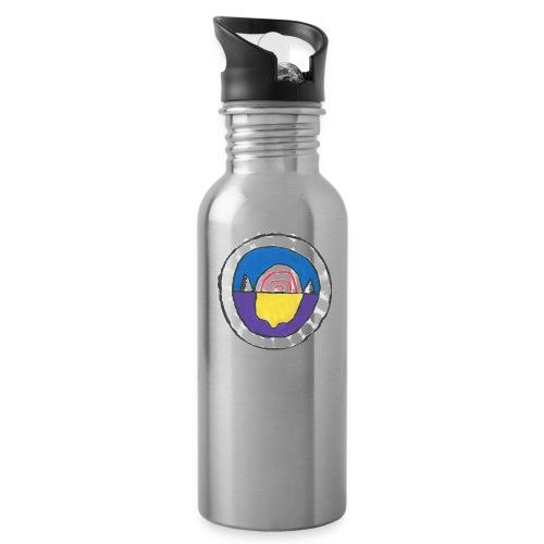 Peppmint/Lemon Design - Water Bottle