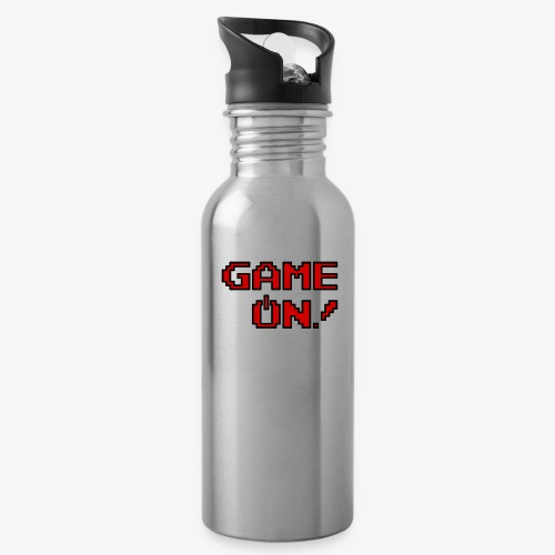 Game On.png - Water Bottle
