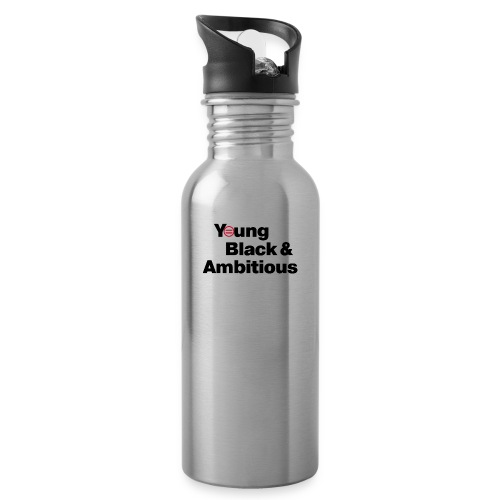 YBA white and gray shirt - Water Bottle