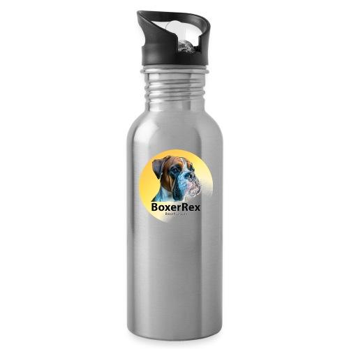 Boxer Rex logo - Water Bottle