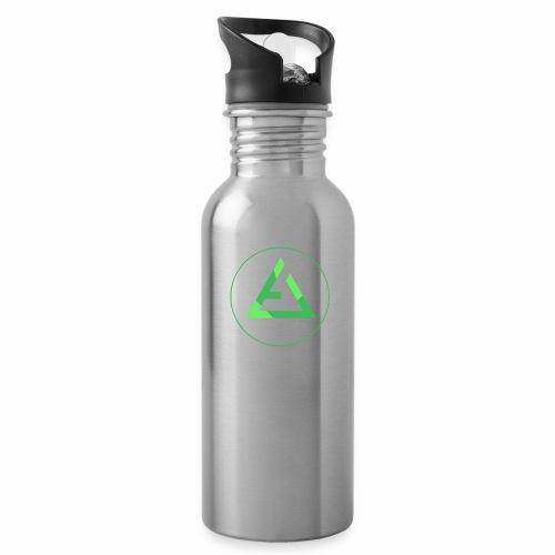 crypto logo branding - Water Bottle