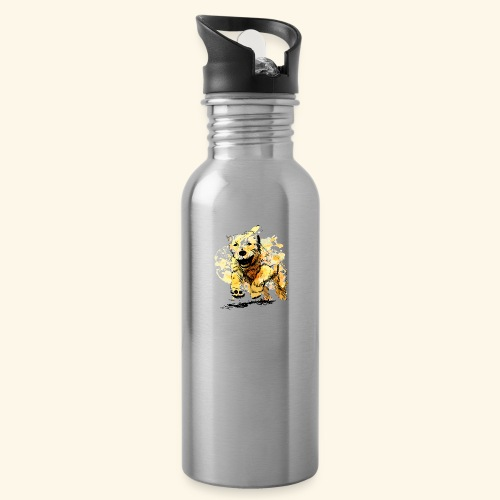 oil dog - Water Bottle