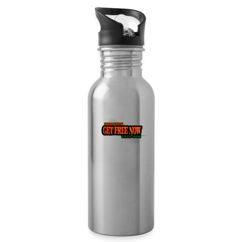The Get Free Now Line - Water Bottle