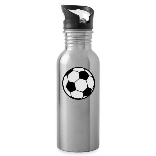 Custom soccerball 2 color - Water Bottle