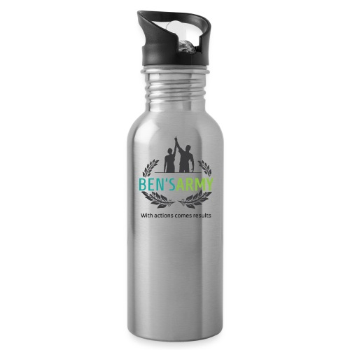BensArmy Final Logo - Water Bottle