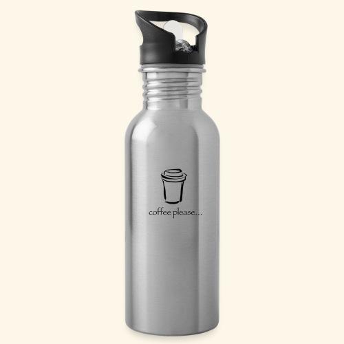 Coffee please.. - Water Bottle