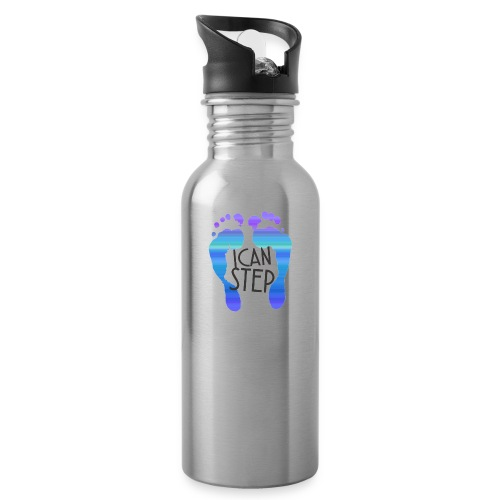 I.C.A.N.S.T.E.P. MOTTO - Water Bottle