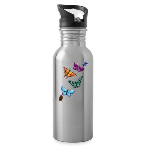 butterfly tattoo designs - Water Bottle