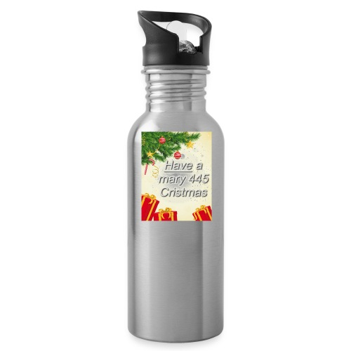Have a Mary 445 Christmas - Water Bottle
