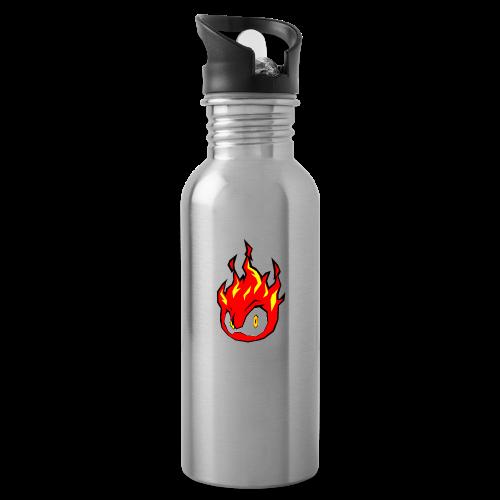 Fire Power YouTube Logo - Water Bottle