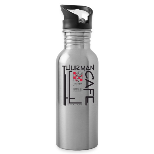 Thurman Cafe Traditional Logo - Water Bottle