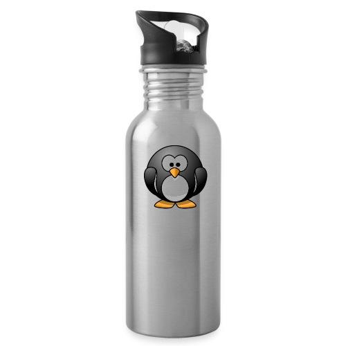 Funny Penguin T-Shirt - Water Bottle
