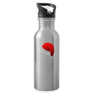 Carmaa Santa Hat Christmas Apparel - Water Bottle