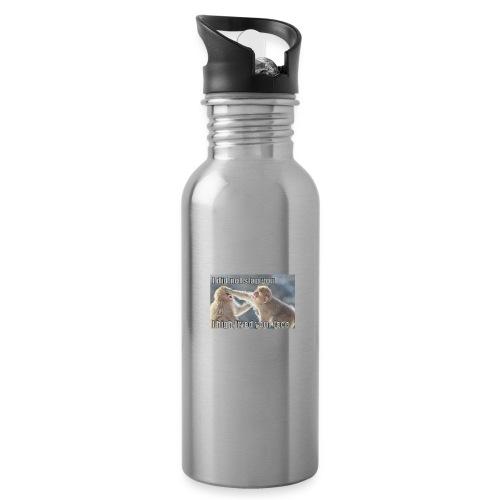 funny animal memes shirt - Water Bottle