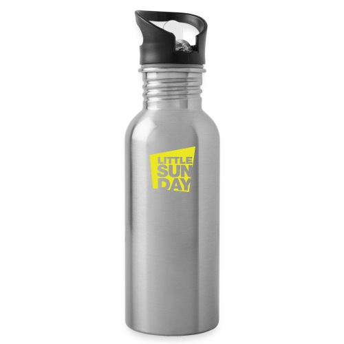 littleSUNDAY Official Logo - Water Bottle
