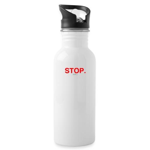 stop - Water Bottle