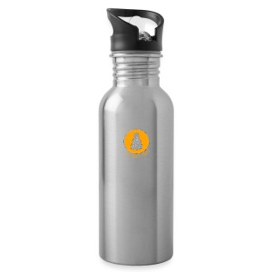 The Rusty Toque Orange Logo Brand - Water Bottle