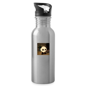 cute panda - Water Bottle
