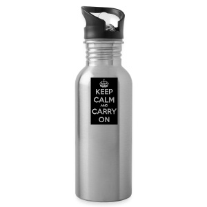 KEEP CALM AND SUB TO DIAMOND - Water Bottle
