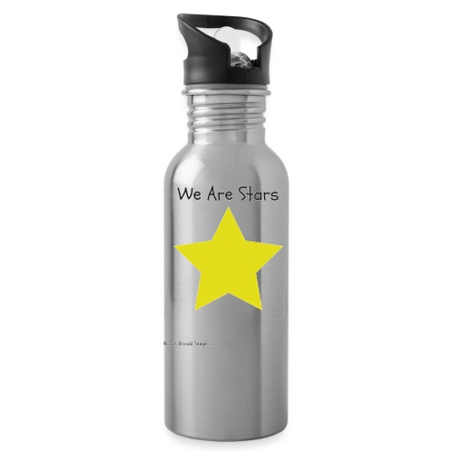 Hi I'm Ronald Seegers Collection-We Are Stars - Water Bottle