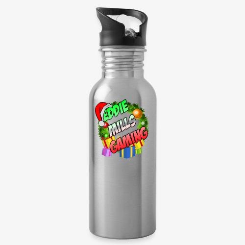 Eddie Mills Christmas - Water Bottle