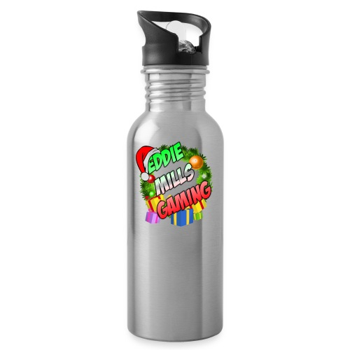 Eddie Mills Christmas - Water Bottle