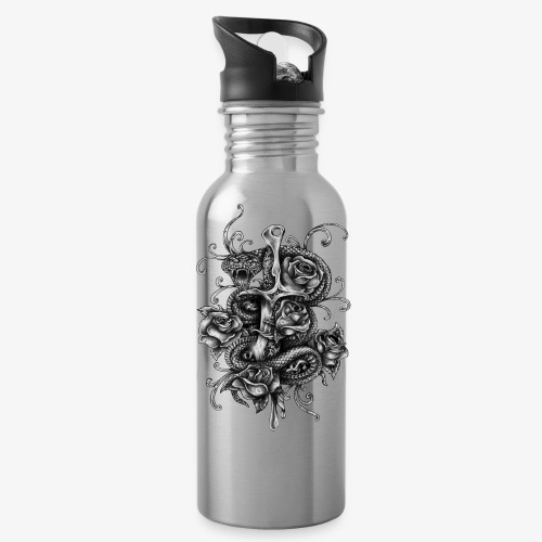 Dagger And Snake - Water Bottle