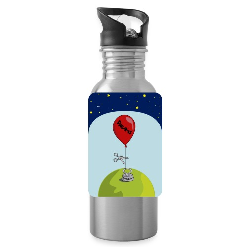 dreams balloon and society 2018 - Water Bottle