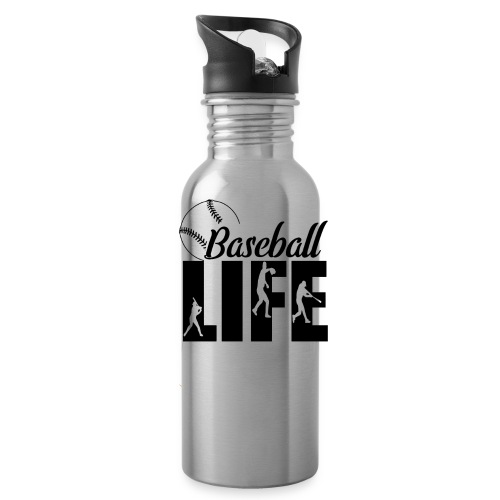 Baseball life - Water Bottle