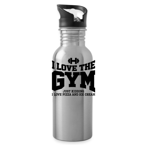 I love the gym - Water Bottle