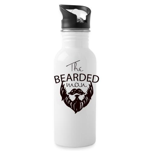 The bearded man - Water Bottle