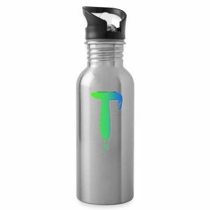 Colored Tlicker Logo - Water Bottle