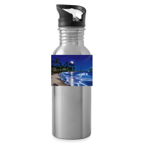 full moon - Water Bottle