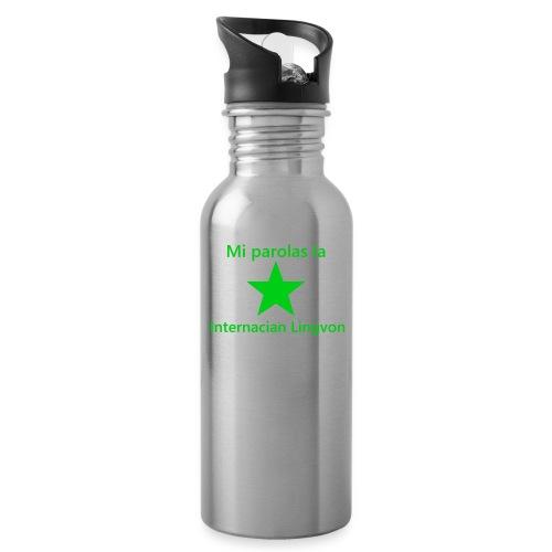 I speak the international language - Water Bottle