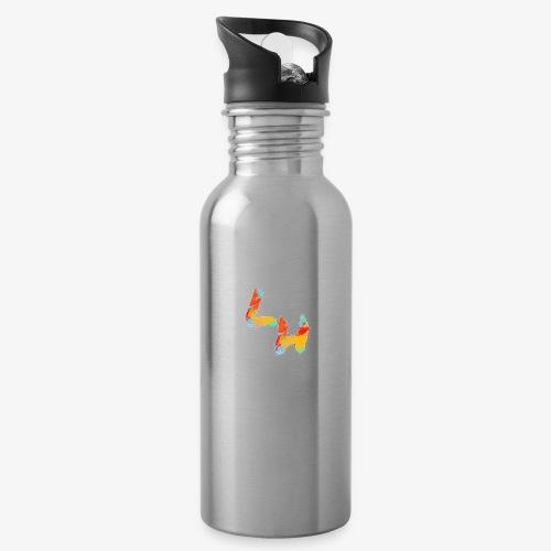 Los Hermanos Logo - Water Bottle