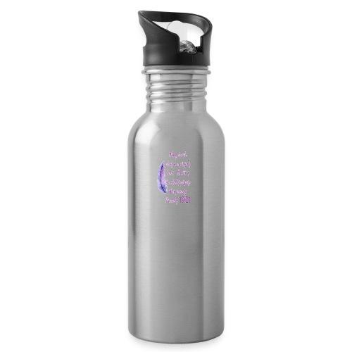 Proverbs 19:21 women pin - Water Bottle