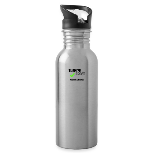 we are online boissss - Water Bottle